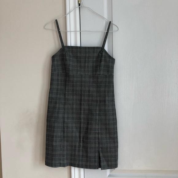 Garage Plaid Mini Dress